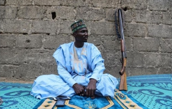 """""""Our Members Can Only Shoot Twice, After That"""" – Hunter Fighting Boko Haram (Photo)"""