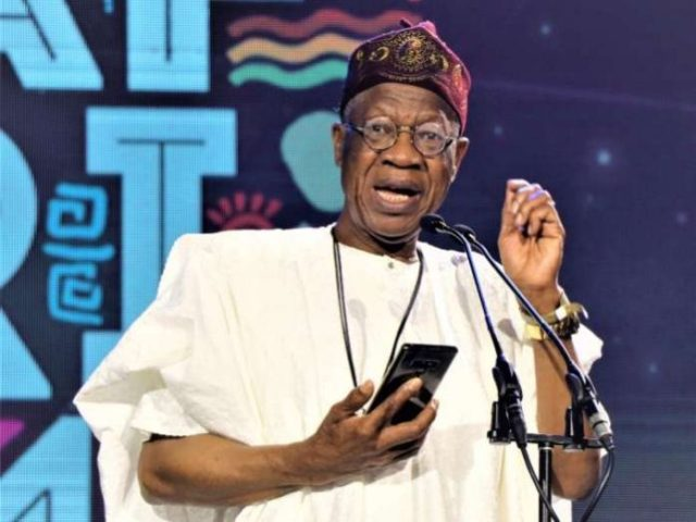 Speaking at a press conference on the violence that trailed the EndSARS protests in Abuja, the Minister of Information and Communication, Alhaji Lai Mohammed said social media was used to spread fake news and disinformation that catalyzed the violence that was witnessed across the country.