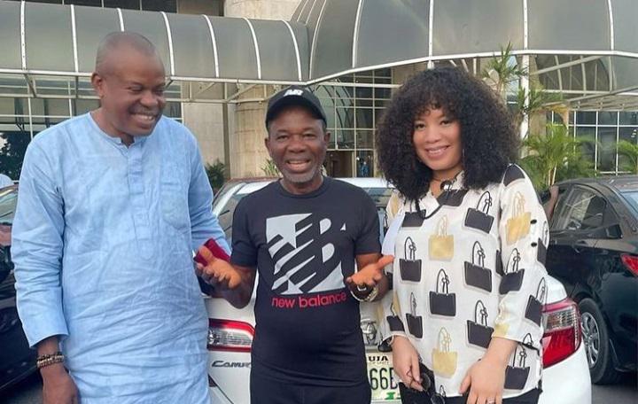 BREAKING: Nollywood Actor, Chiwetalu Agu released from DSS Abuja custody