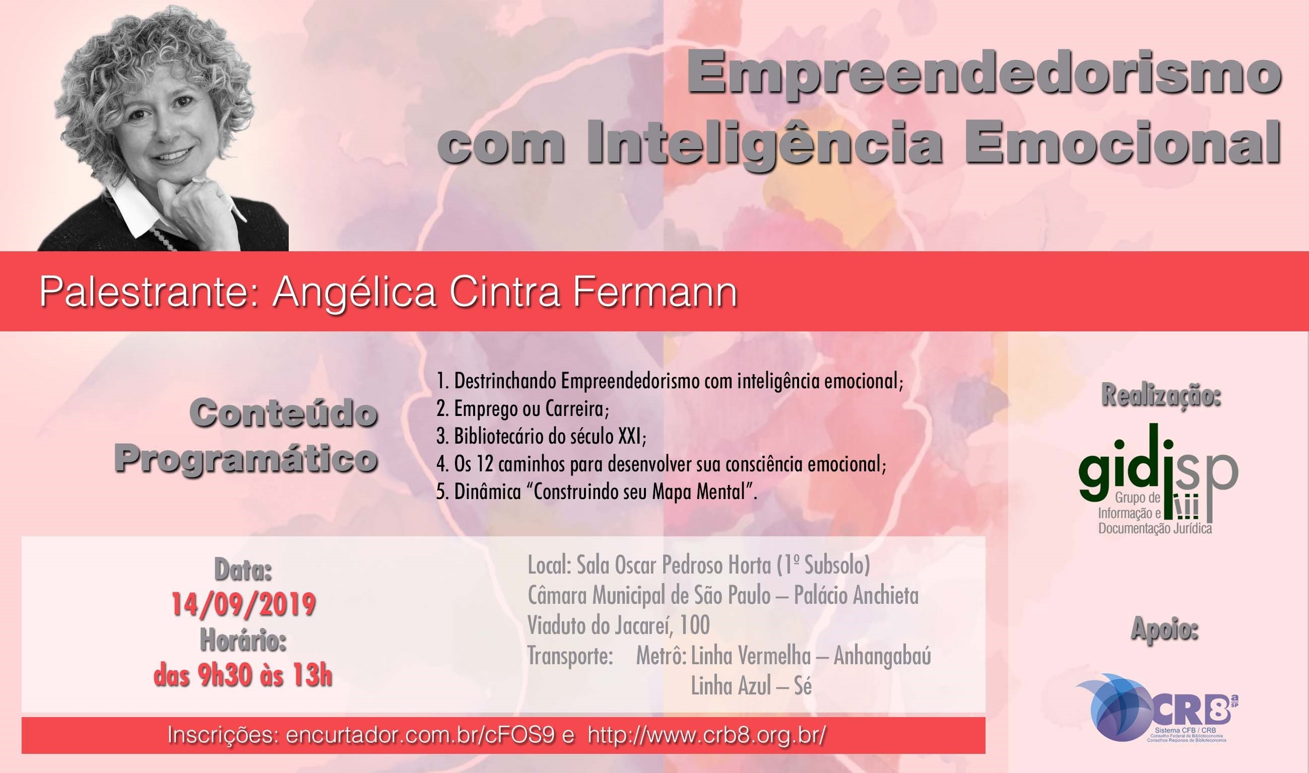 Ciclo de Palestras – Empreendedorismo com Inteligência Emocional