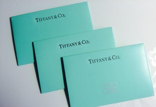 Тиффани конверттері