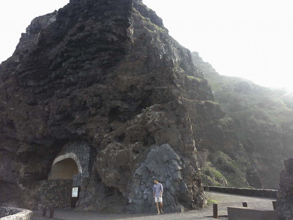 Дорога Punta de Teno на Тенерифе