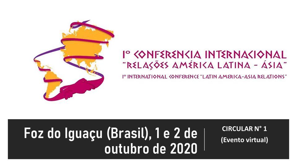 """I Conferência Internacional """"RELAÇÕES AMÉRICA LATINA-ÁSIA"""""""