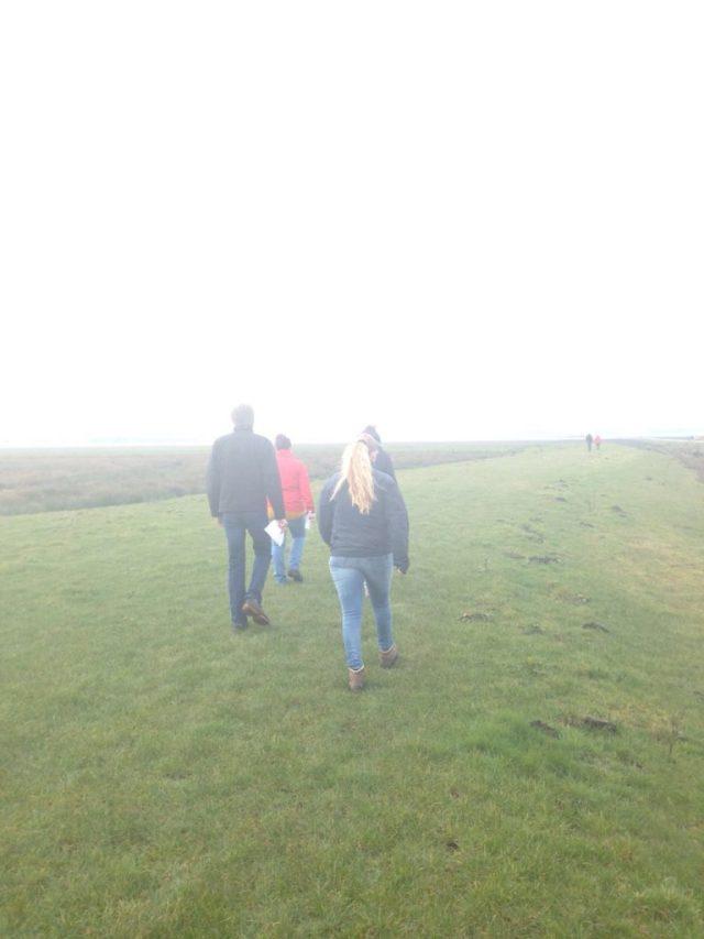 Gedeelte van de wandeltocht door natuurgebied de Bonnerklap