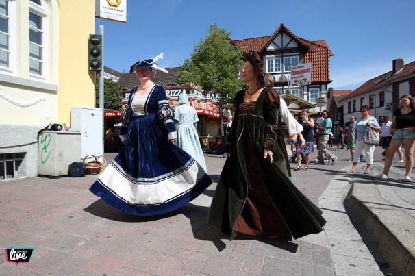 Foto: Sebastian Preuss, Altstadtfest 2018, Walk Act, Amici Saltandi