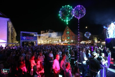 Foto: Sebastian Preuss, Altstadtfest 2018, Bühne Rathaus, Hit Radio Show