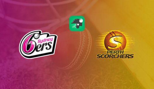 SIX vs SCO Score, Sydney Sixers vs Perth Scorchers, 12th ...