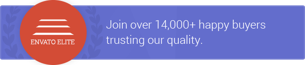 Join over 14,000+ happy buyers trusting our quality.