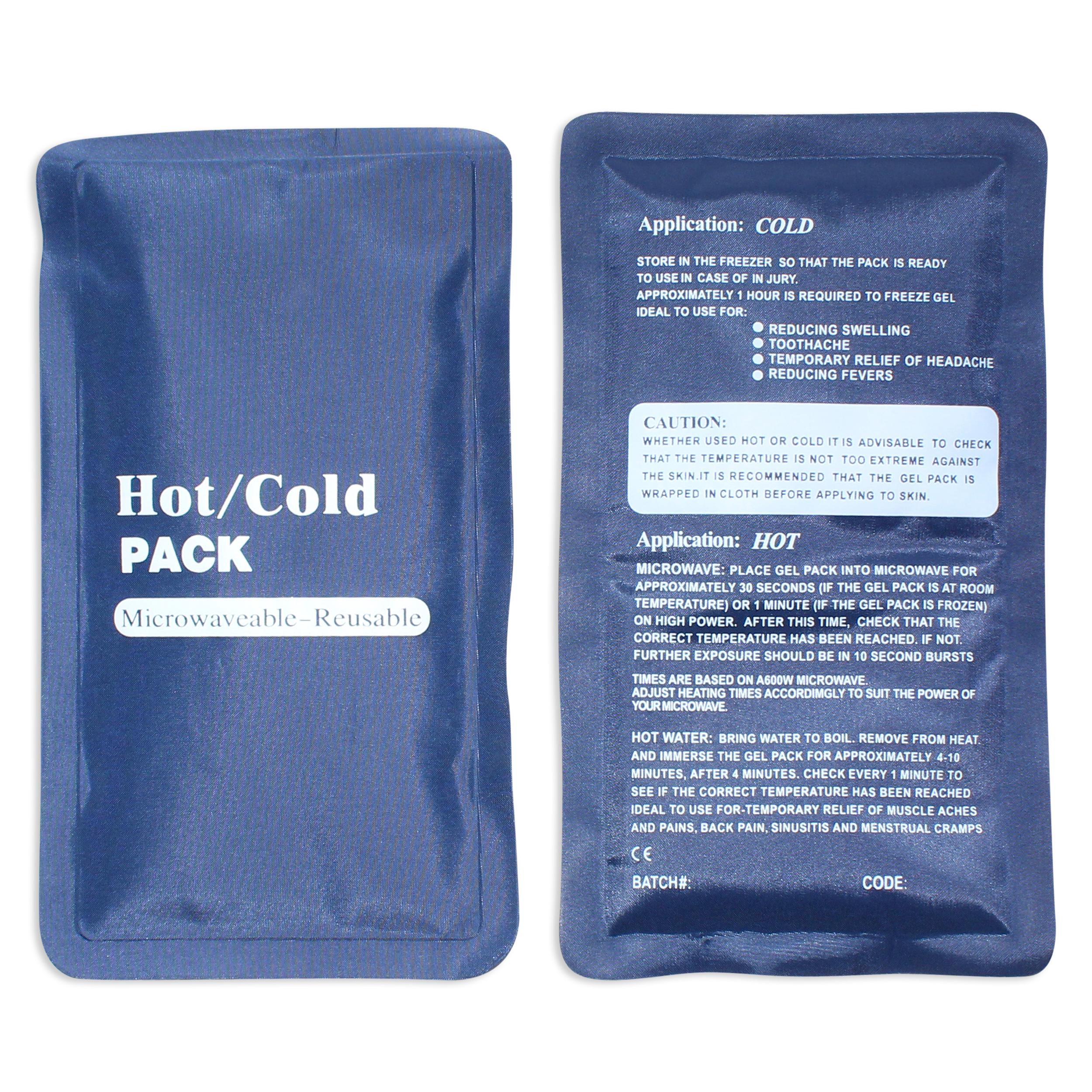 customised hot and cold compress
