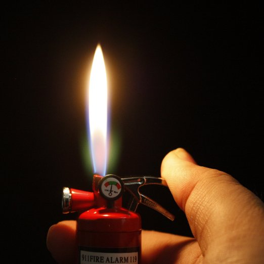 Fire Extinguisher Lighter and Flashlight + 49 More Gift Ideas Under 5 Dollars