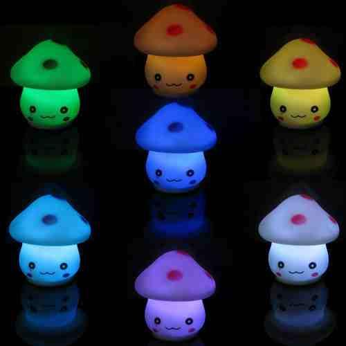 Mushroom Night Light + 49 More Gift Ideas Under 5 Dollars