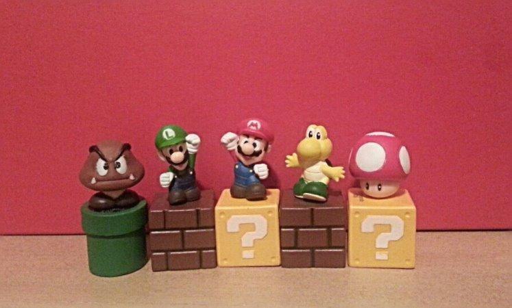 Super Mario Mini Figures + More Mario Stocking Stuffers