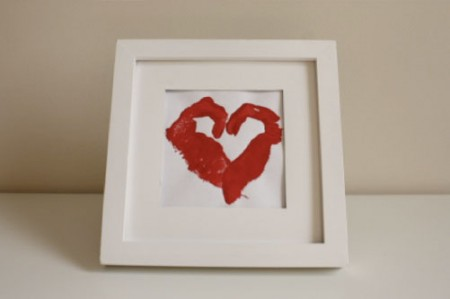 Childs Heart Stamp