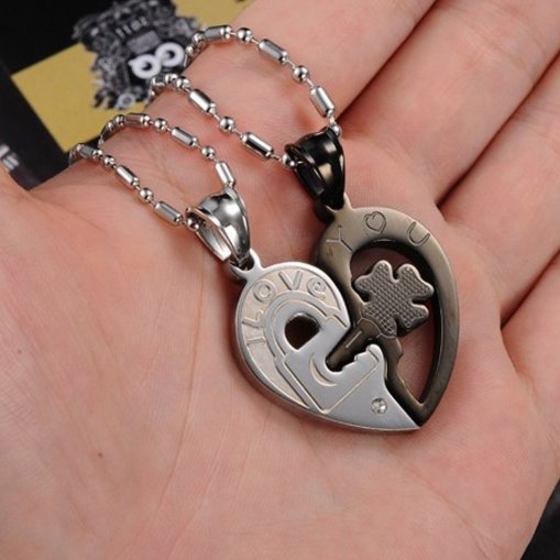 Heart Couples Necklace