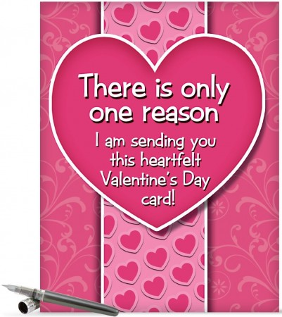 Valentines Day Card for the One WIth a Temper