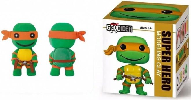 Ninja Turtles Clay Modelling Kit