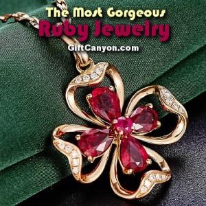 july birthstone ruby jewelry
