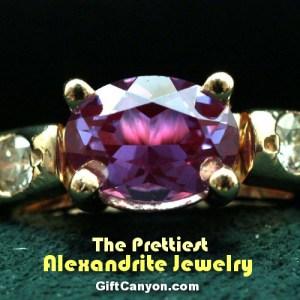 june birthstone alexandrite jewelry