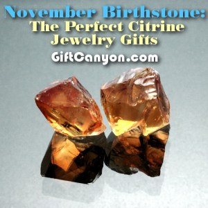 citrine jewelry gifts