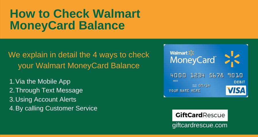 walmart gift card balance visa
