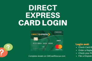 """How to Login to Direct Express Card Account"""