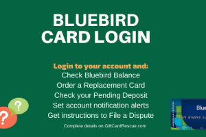 """How to login to Bluebird Card Account online"""