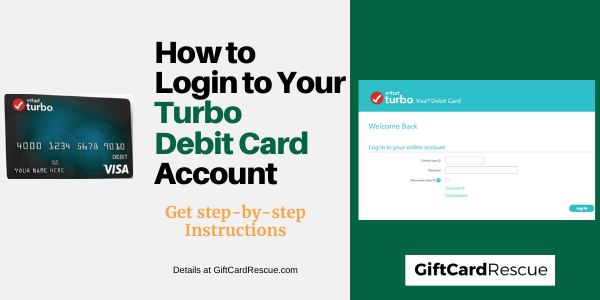 """Turbo Debit Card Login"""