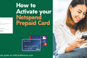 """Activate Netspend Prepaid Card"""