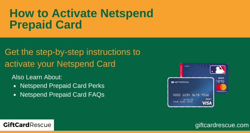 """How to Activate Netspend Prepaid Card"""