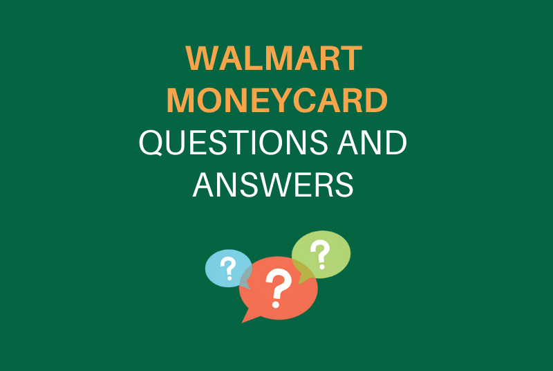 Walmart MoneyCard FAQs - Gift Cards and Prepaid Cards