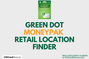 """Green Dot MoneyPak Retail Locations"""