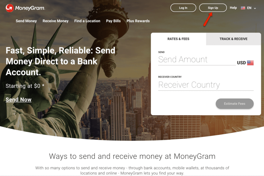 """How to Create MoneyGram Account Online"""