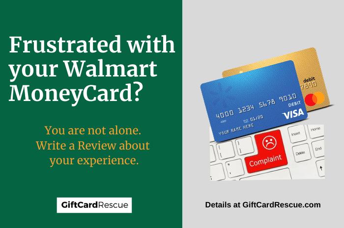 """Walmart MoneyCard Complaints and Reviews"""