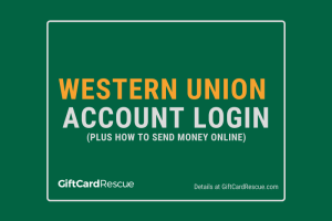 """Western Union Account Login"""