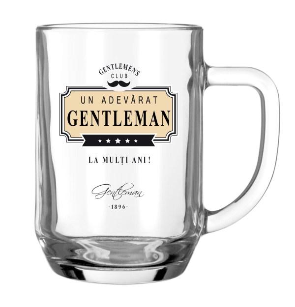 """Halba """"Un adevarat Gentleman"""""""
