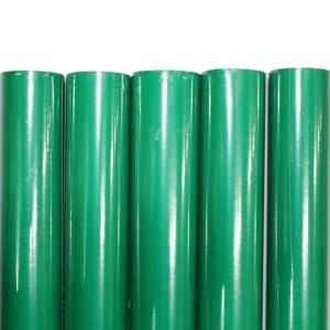 Set 5 bucati hartie ambalat cadouri Verde Uni