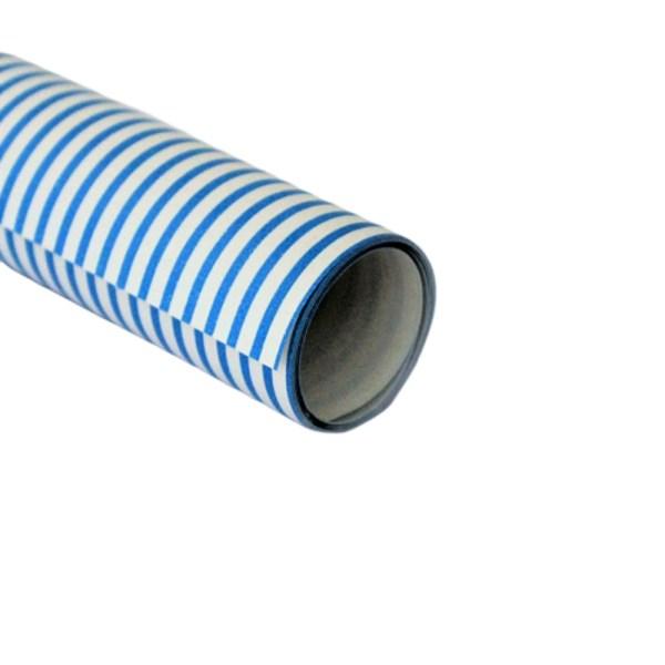 Hartie ambalat cadouri Graphic Alb-bleu