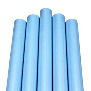 Set 5 role hartie perlata ambalat cadouri bleu