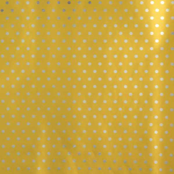 Hartie ambalat Craciun 150x70cm buline auriu