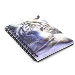 Carnetel zoo 3D White tiger repose