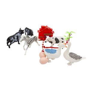 Set figurine animale domestice Casa La Tara