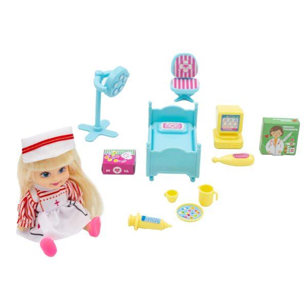 Set de joaca Cabinet Medical cu accesorii My Little Hospital