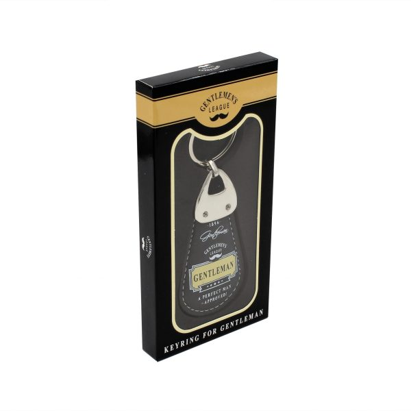 """Breloc Gentleman's """"A perfect man - Approved"""""""