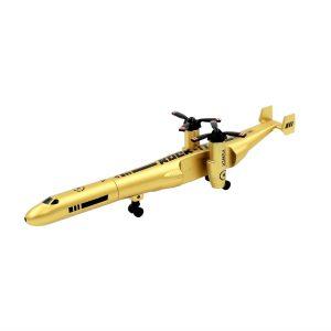 Pix funny colectia Aviatie avion auriu