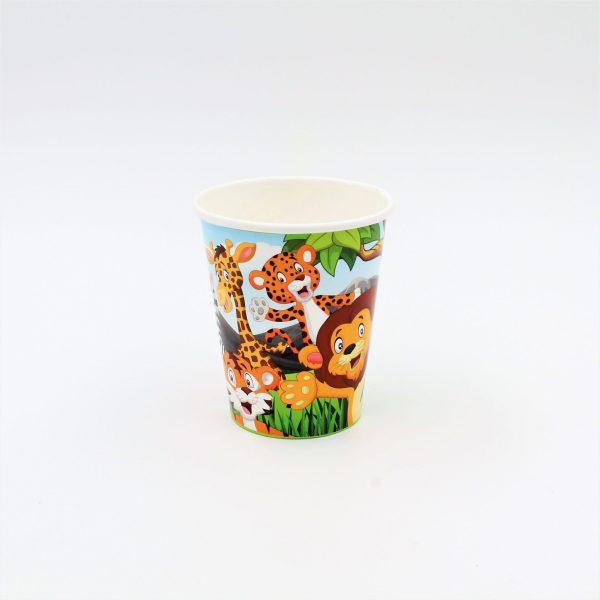 Set 8 pahare 260 ml Jungle