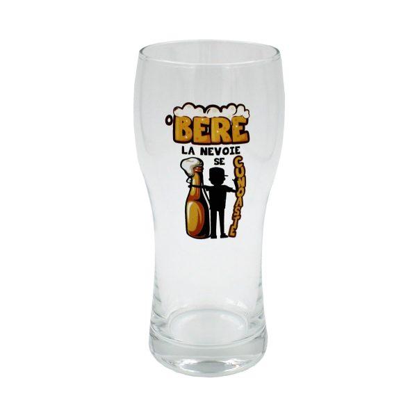 Pahar O bere la nevoie se cunoaste!