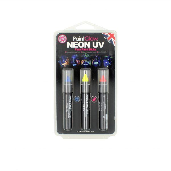 Set creioane PaintGlow Neon UV HP31
