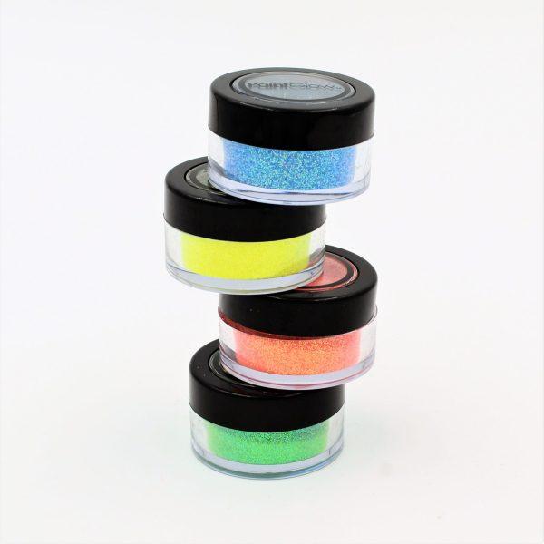 Glitter Sherbet Lemon PaintGlow UV Reactive