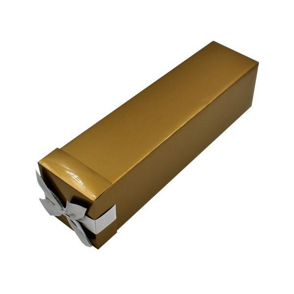Cutie pliată băuturi auriu 34x8x8 cm