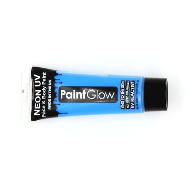 Vopsea față-corp 13ml Neon UV albastru